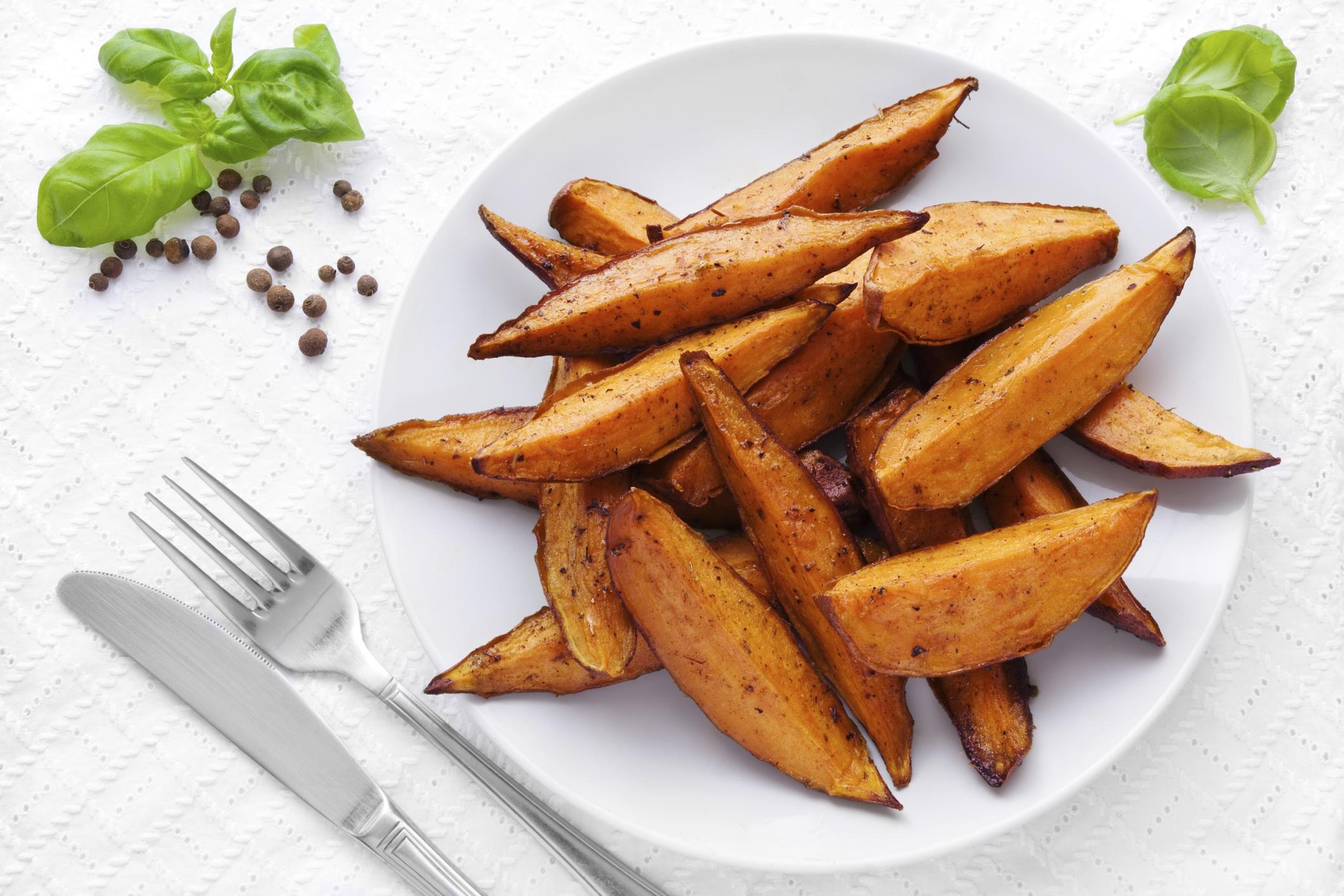 Spicy Sweet Potato Wedges - Alexander's Highland Market