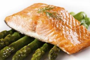 asparagus&salmon