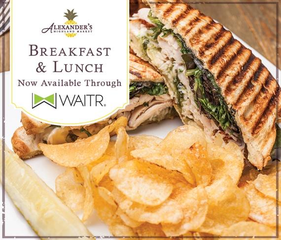 Order Breakfast & Lunch Through WAITR