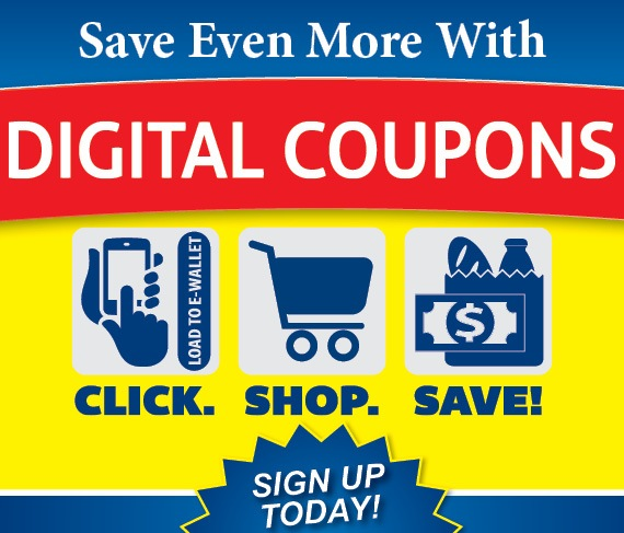 Save Even More With Digital Coupons