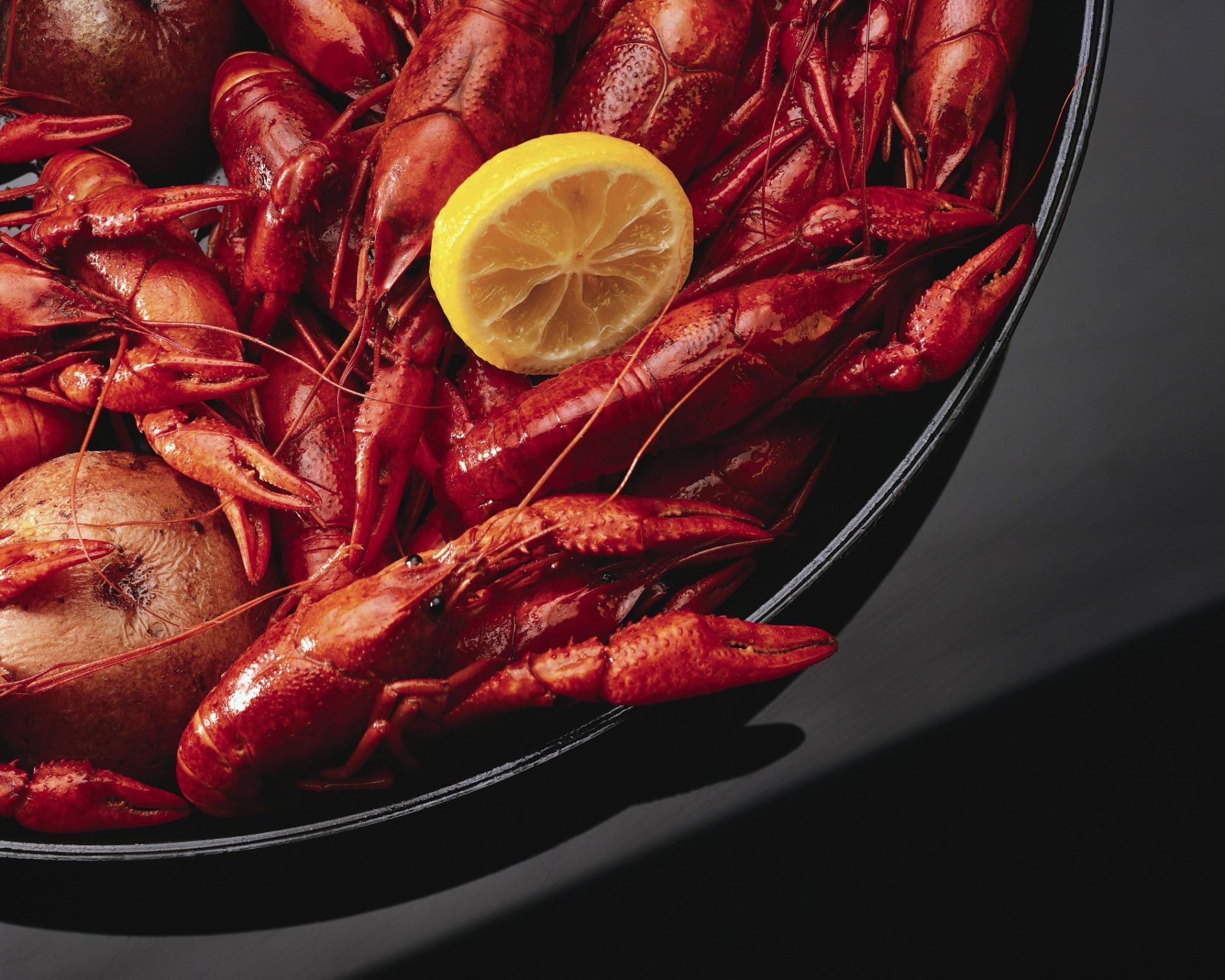 Crayfish with Potatoes