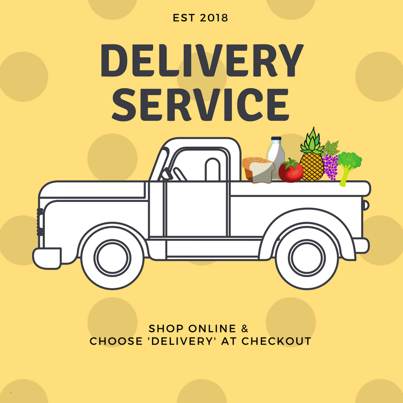 We Offer Delivery